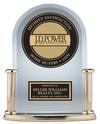 J.D. Power Highest Satisfaction trophy